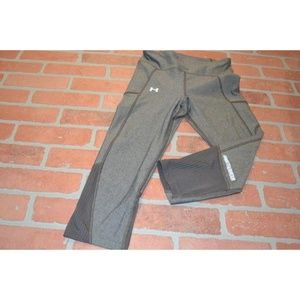 3731 Womens Under Armour Gym Pants Workout Size